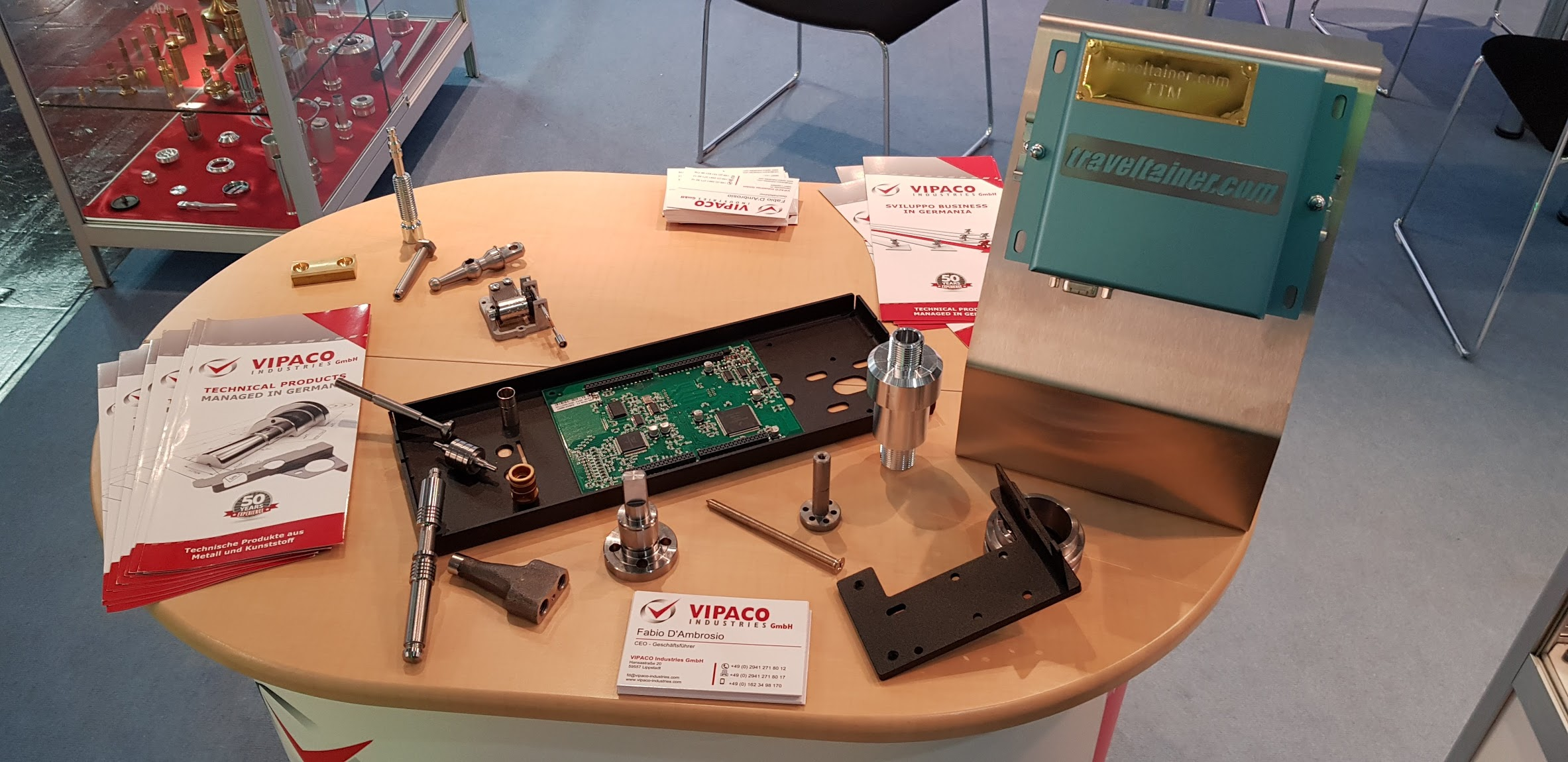 VIPACO Industries GmbH Hannover Messe 2018