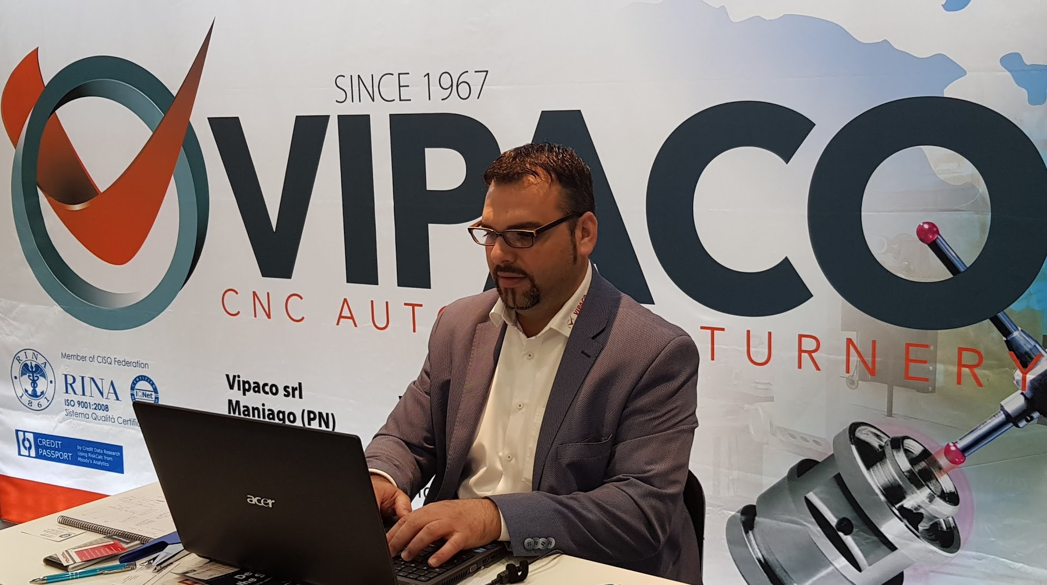 VIPACO Industries GmbH Hannover Messe 2018VIPACO Industries GmbH Hannover Messe 2018