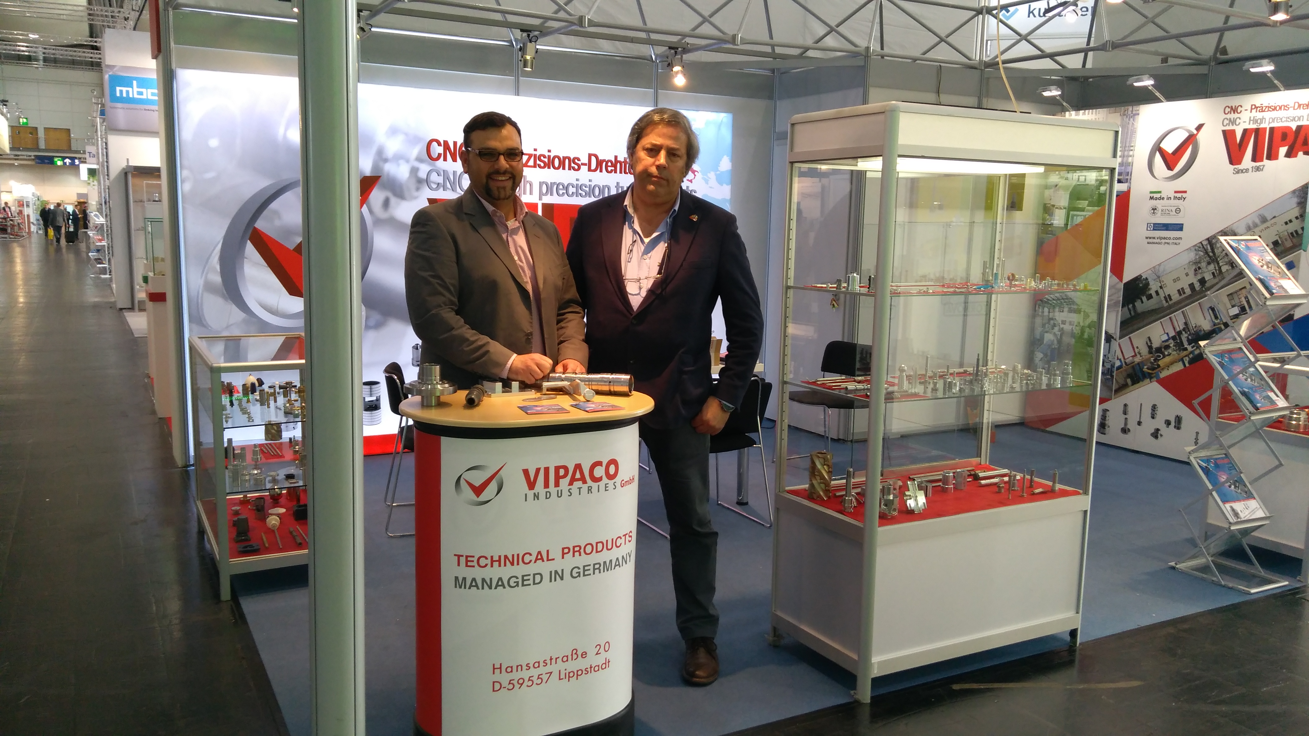 VIPACO INDUSTRIES GmbH - Hannover Messe 2017