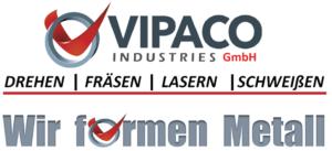 Logo VIPACO Industries GmbH - Drehen - Fräsen - Lasern - Schweißen