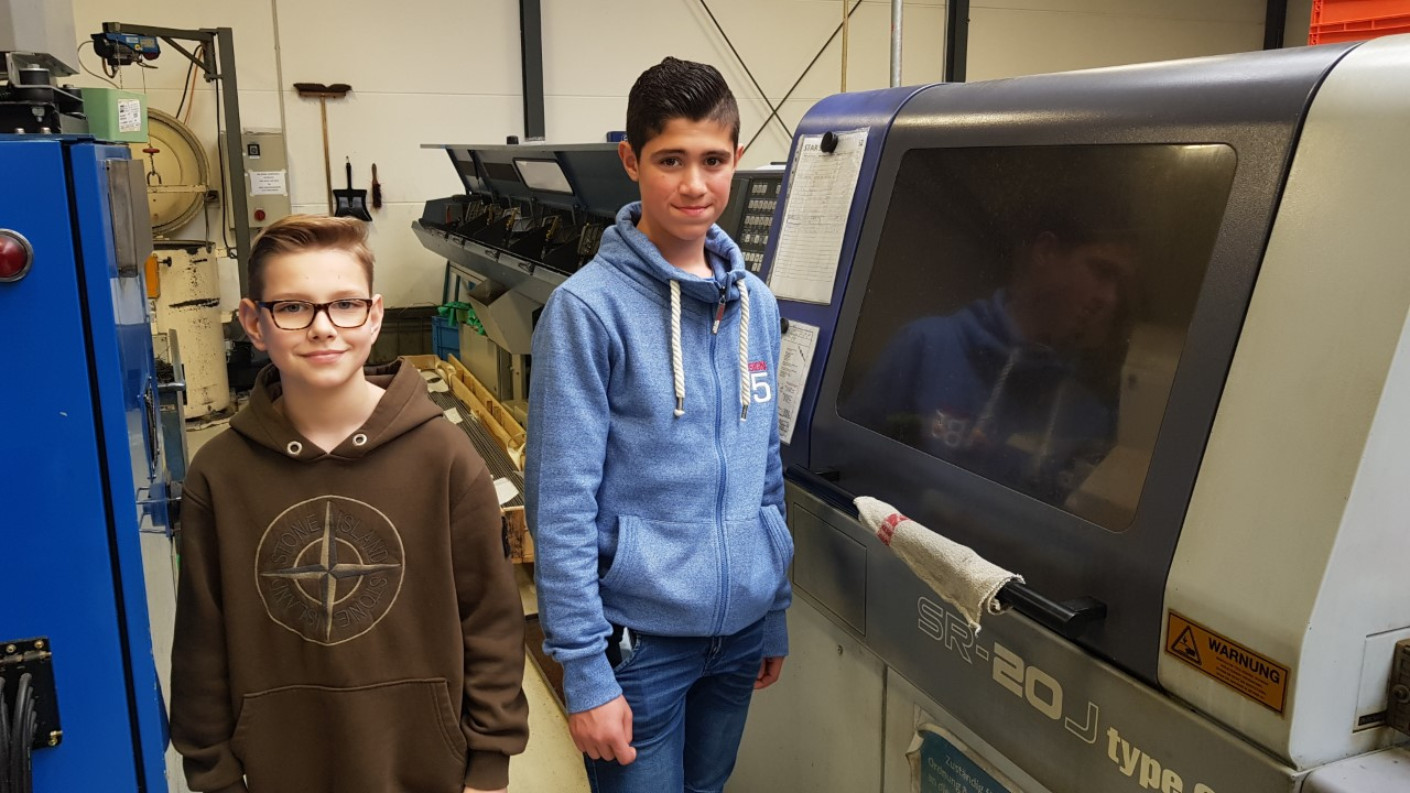 Boys Day 2019 bei VIPACO INDUSTRIES